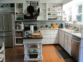 Kitchen after organization and redesign