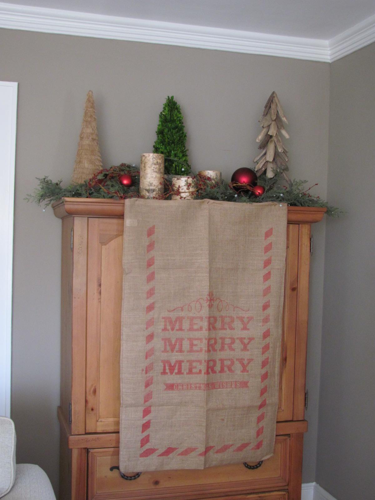 Seasonal Christmas Decor by Professional Organizer