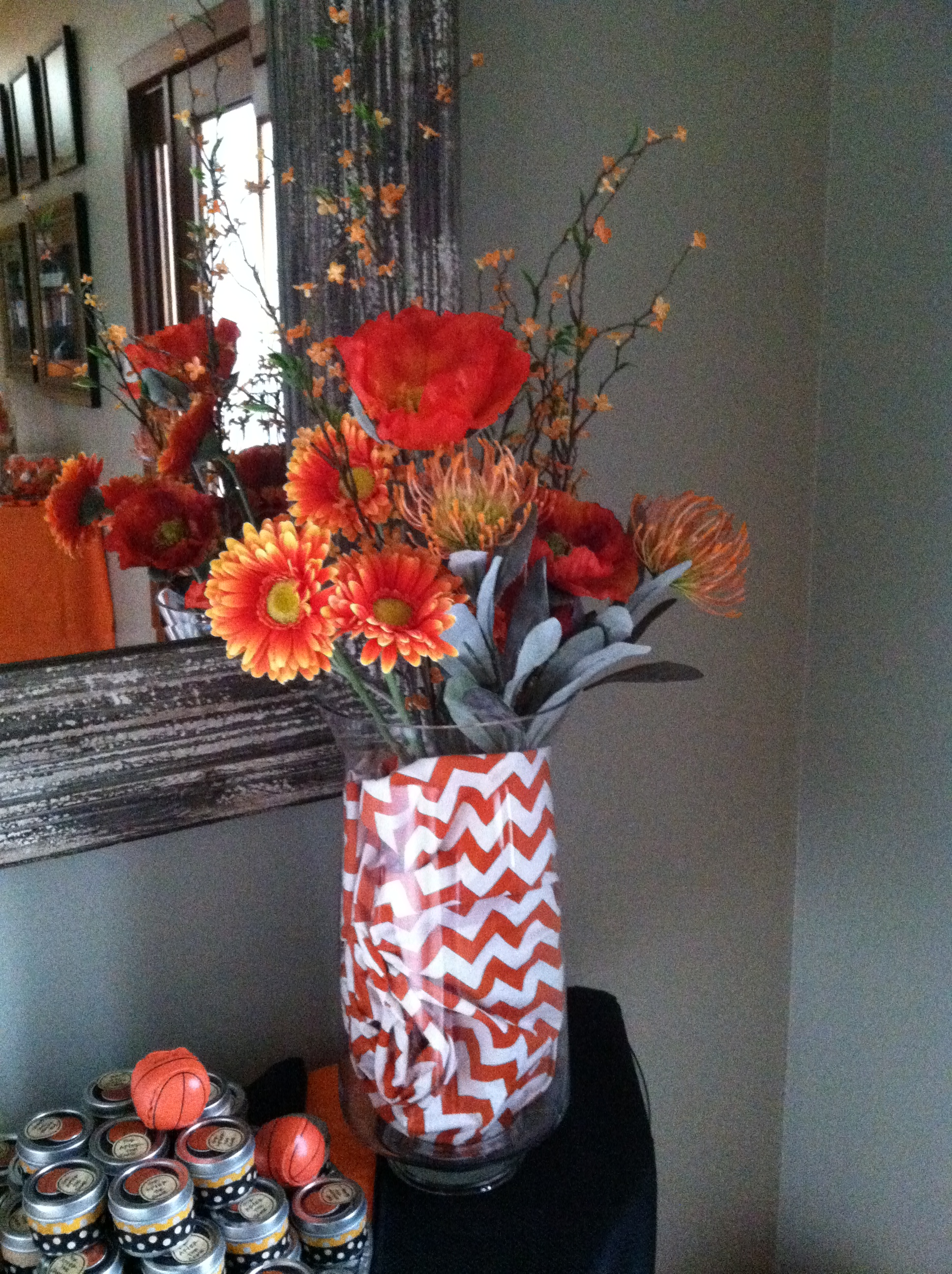 March Madness Party Decor by Pro Organizer