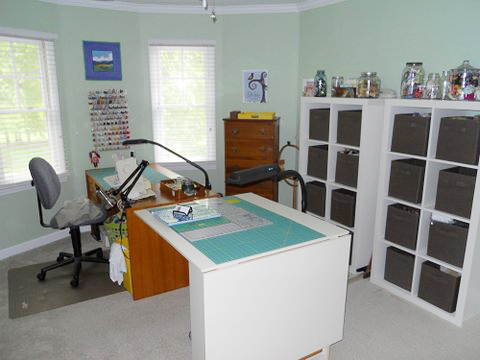 Office / Craft Room After Pro Organizer