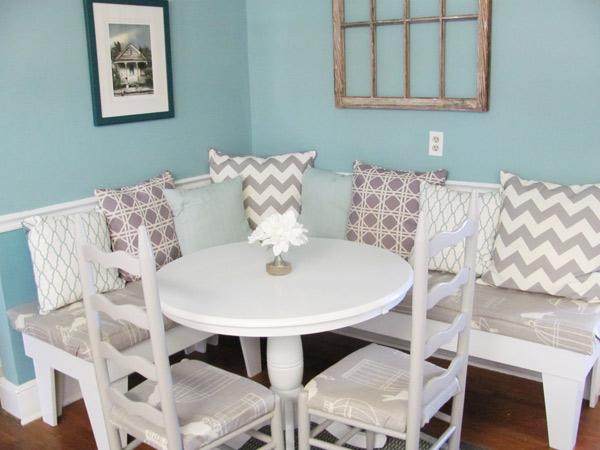 Kitchen Nook redesign by Good Egg Organzing