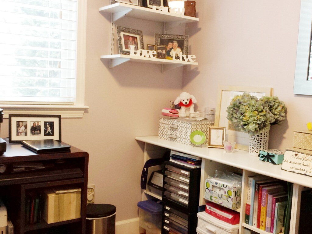 Home Office After professional organizer